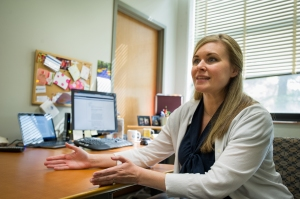 Assistant Professor of Ecological-Community Psychology Adrienne Adams explains her research.